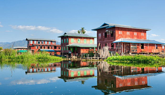 stills house in inle lake