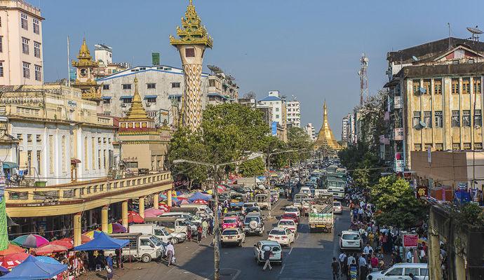 centre ville yangon