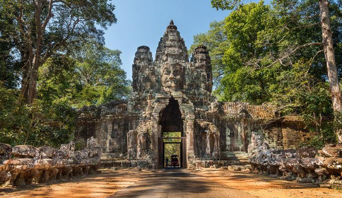 porte sud Angkor Thom