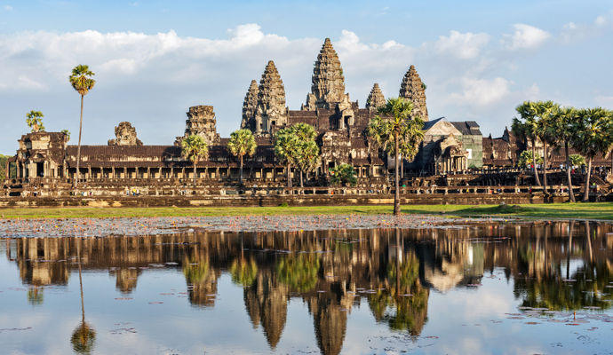 le Cambodge en liberté 3*
