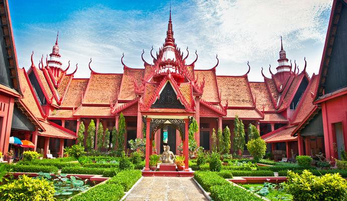 LEssentiel du Cambodge 3 * musee national de phnom penh