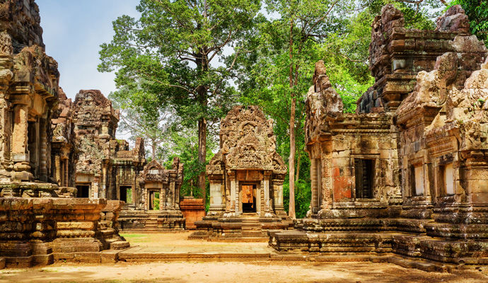 LEssentiel du Cambodge 3 * temple thommanon