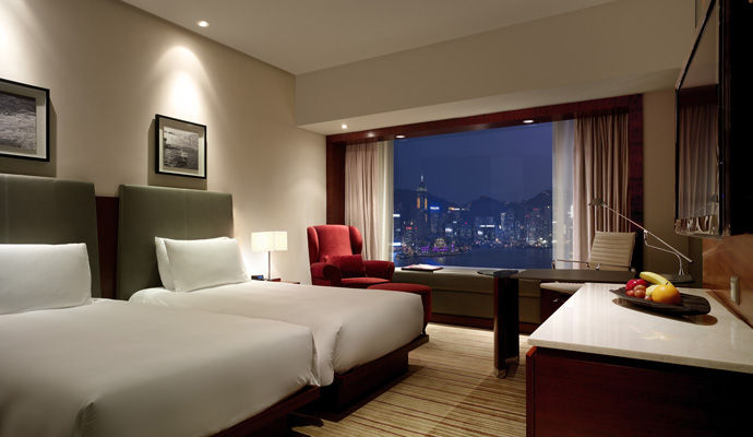 hyatt regency hong kong chambre vue harbour