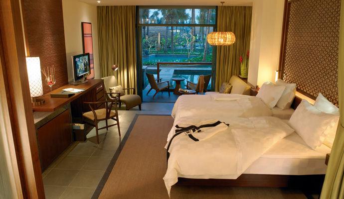 hilton sanya bay room lagoon access