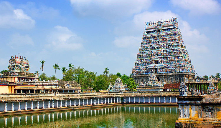 Chidambaram sanctuaire du Nataraja