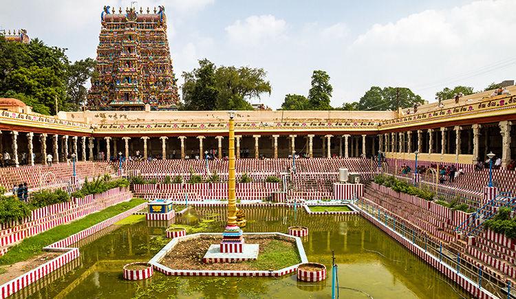 temple de la deesse Meenakshi