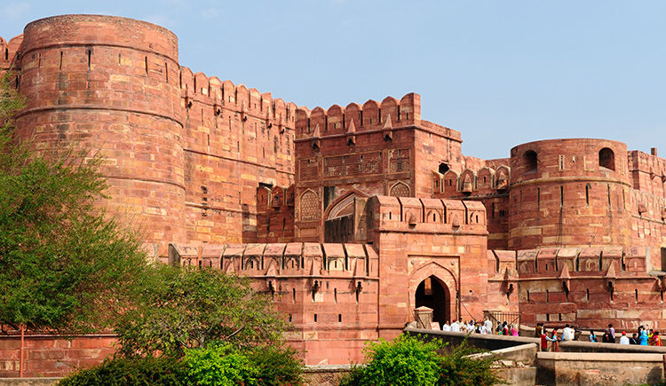 Fort Rouge d Agra