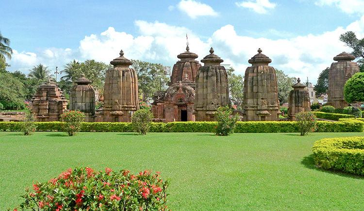 Les Temples de lOrissa et Calcutta