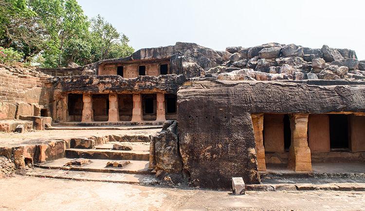 grotte Udayagiri