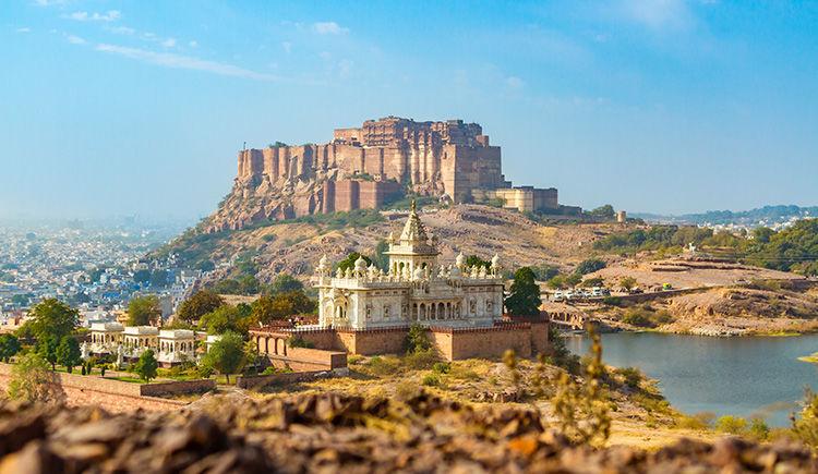 Fort de Mehrangarh et le Jaswant Thada