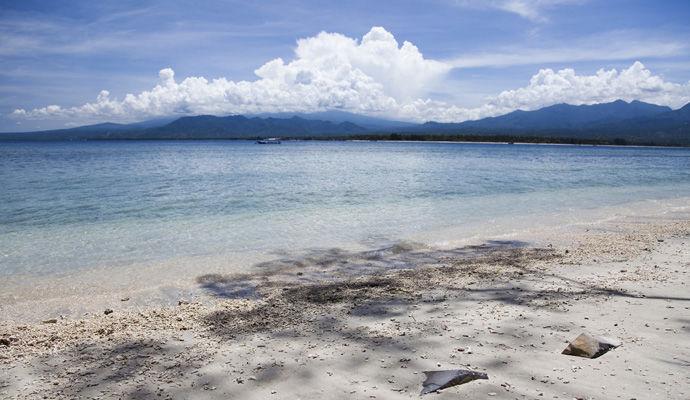 plage de Gili Air
