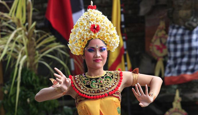 danseuse balinaise du Barong