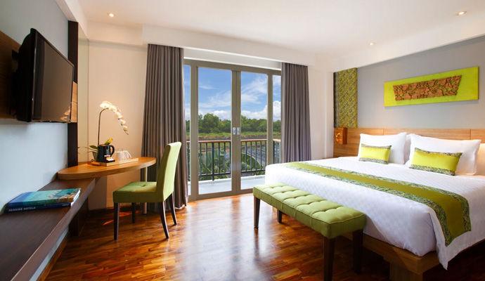 chambre double de luxe Swiss Belhotel