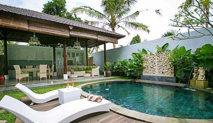 piscine villa Ubud Raya