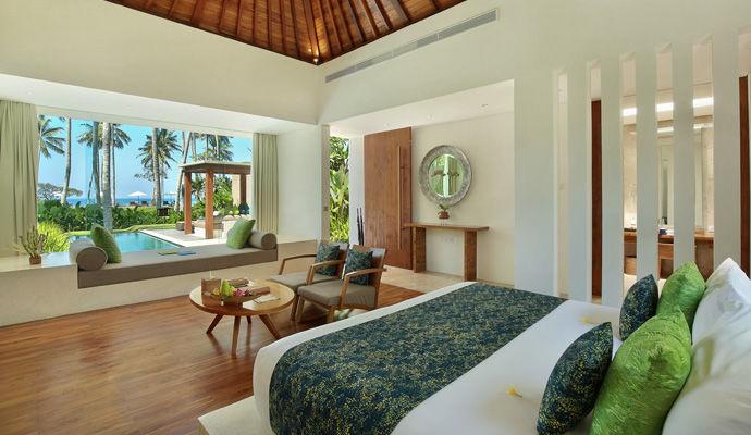 pool villa vue ocean