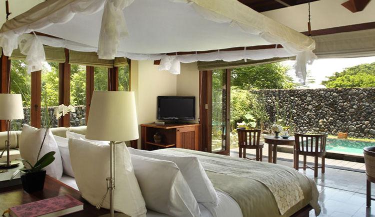 Nusa Dua / Ubud Hôtels Melia Bali et Alila  Alila villa piscine