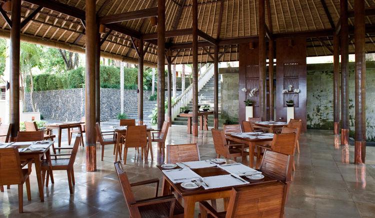 Nusa Dua / Ubud Hôtels Melia Bali et Alila  Alila restaurant Plantation