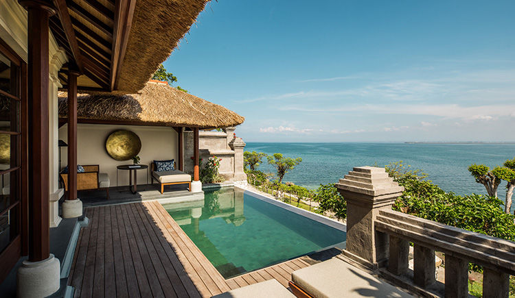 Premier Ocean Villa terrasse