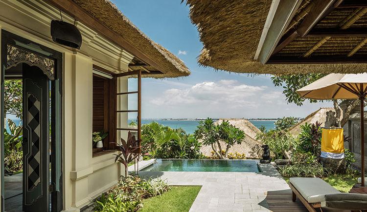 Jimbaran Bay Villa entree