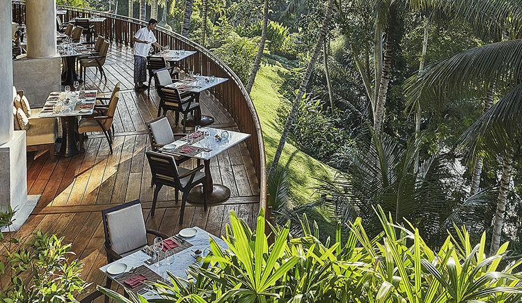 terrasse restaurant Ayung