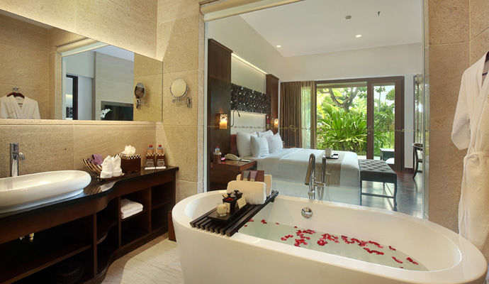 salle de bains chambre cote mer