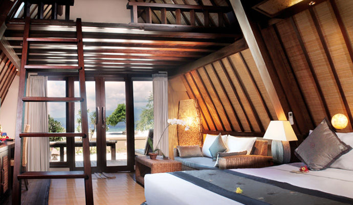 chambre deluxe lumbung hut