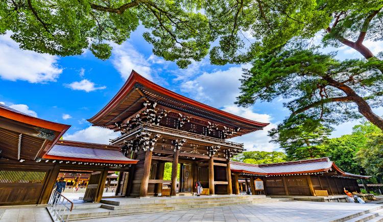 sanctuaire Meji Tokyo