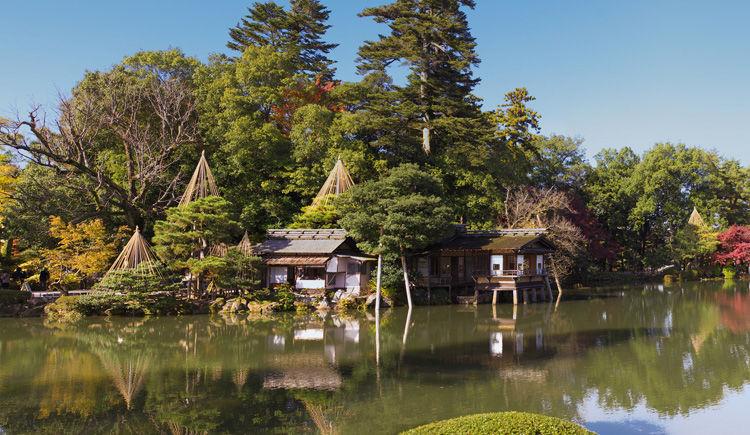 jardin Kenrokuen a Kanazawa