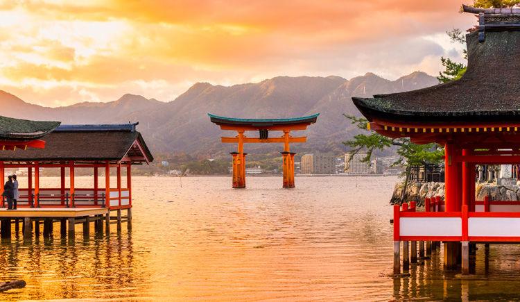 Miyajima sanctuaire Itsukushima