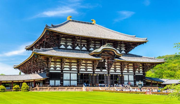 Temple Todaiji Nara