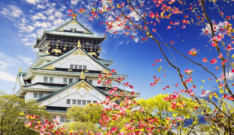 Osaka chateau