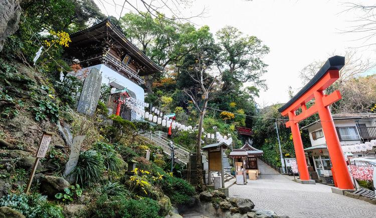 santuaire de Enoshima a Kamakura