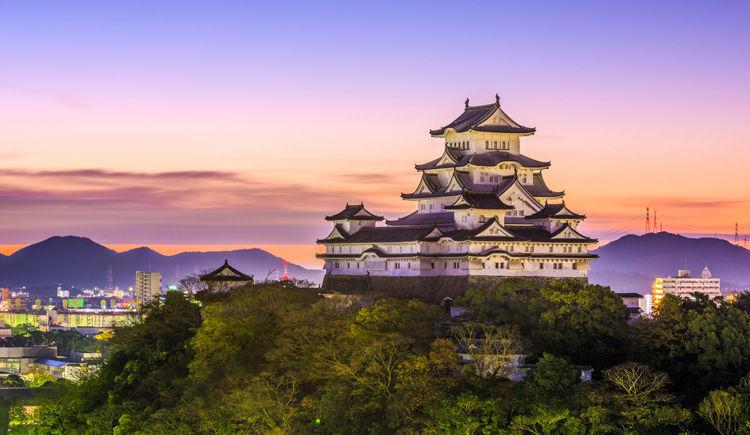Chateau Himeji a Osaka