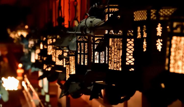 lanternes de Kasuga Taisha