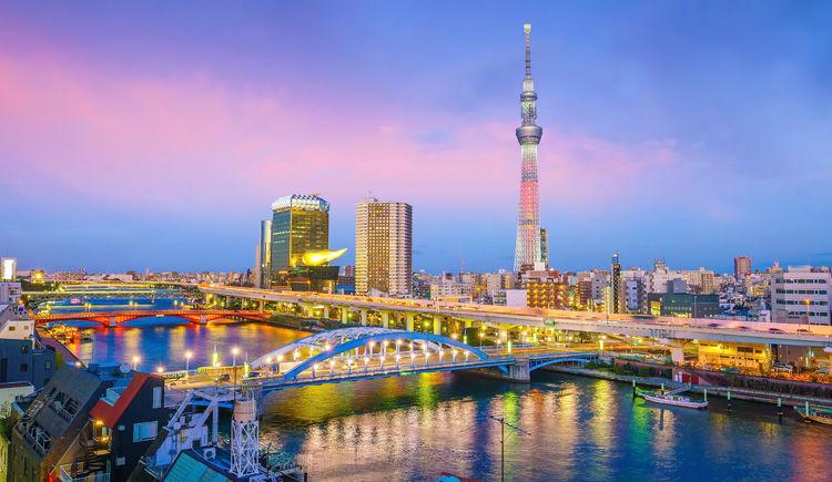 Tokyo Sumida Riviere