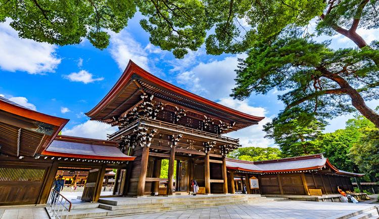 Tokyo Sanctuaire Meiji Jingu