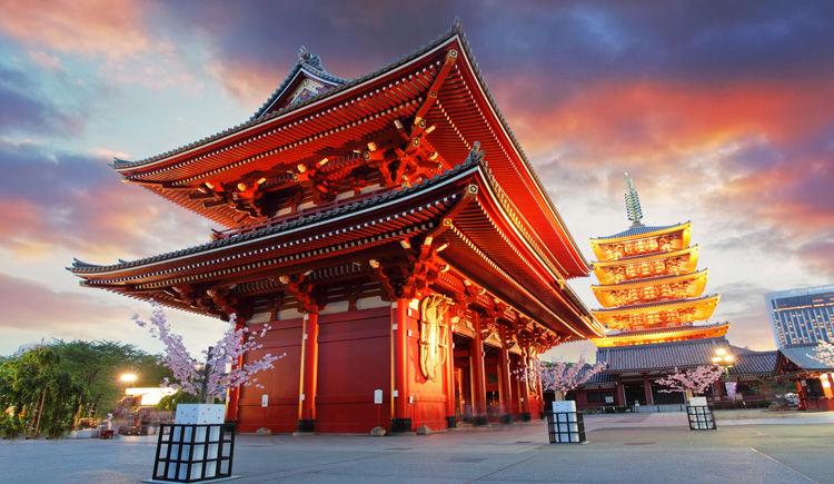 Tokyo Temple Sensohi ji