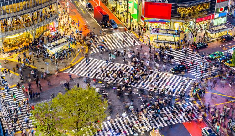 carrefour de Shibuya