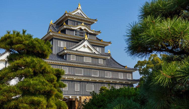 chateau noir a Okayama