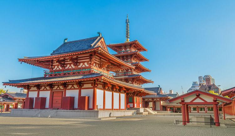 Osaka temple Shitenno-ji