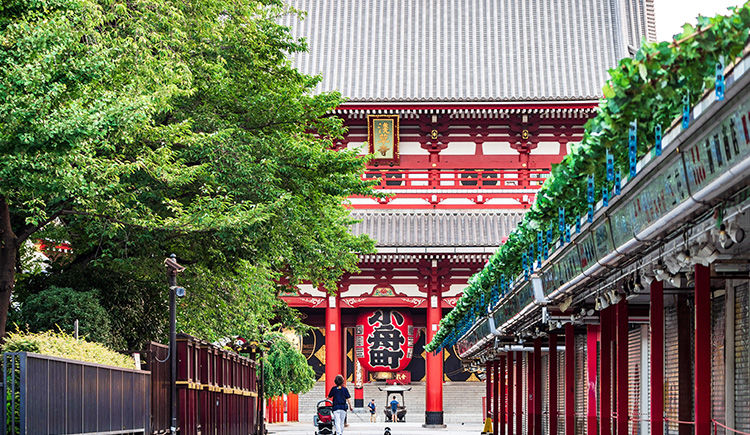 Tokyo Sanctuaire Asakusa