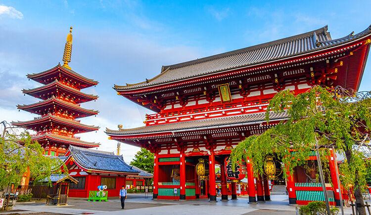 Tokyo Temple Sensoji