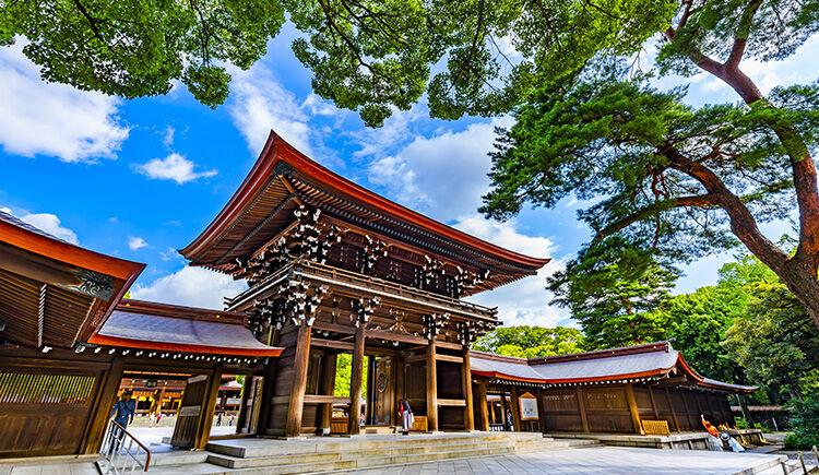 Tokyo Sanctuaire Meiji