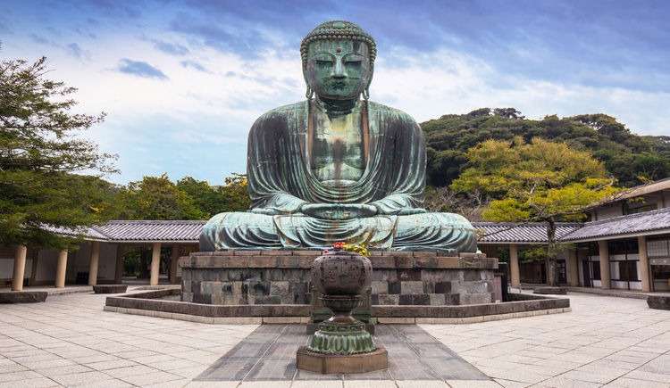Kamakura Bouddha de bonze geant
