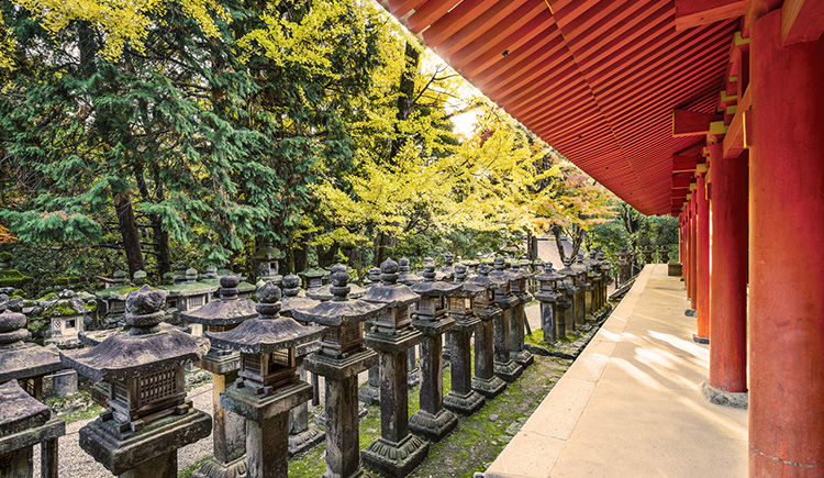 Nara sanctuaire Kasuga Taisha