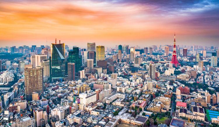 Tokyo vue aerienne
