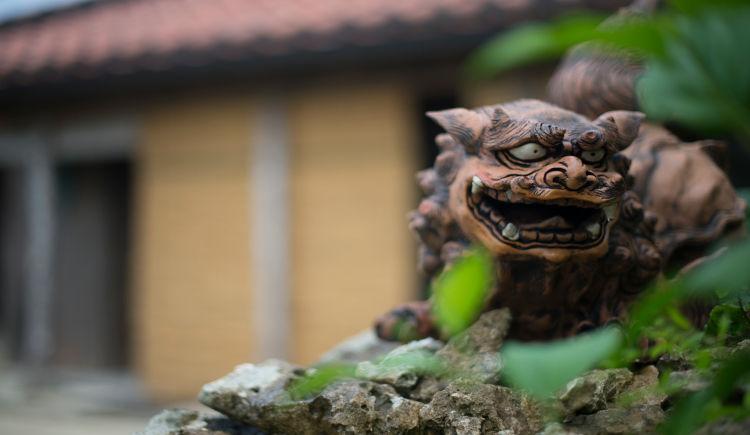 Shisa talisman Okinawa