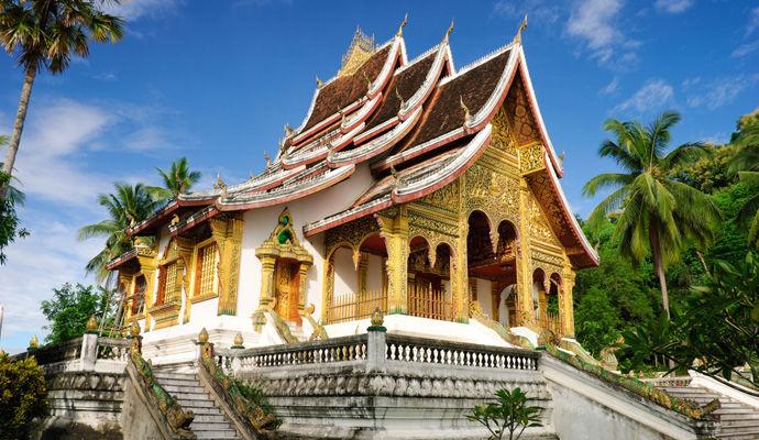 musee du Palais Royal a Luang Prabang