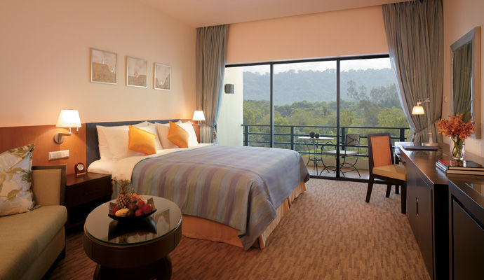 chambre kinabalu vue montagne