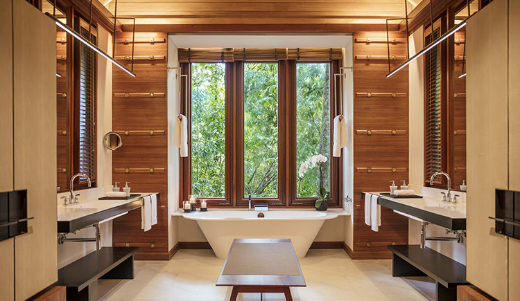 Rainforest Villa salle de bain